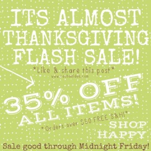 Do you have time for a sweet FLASH SALE!