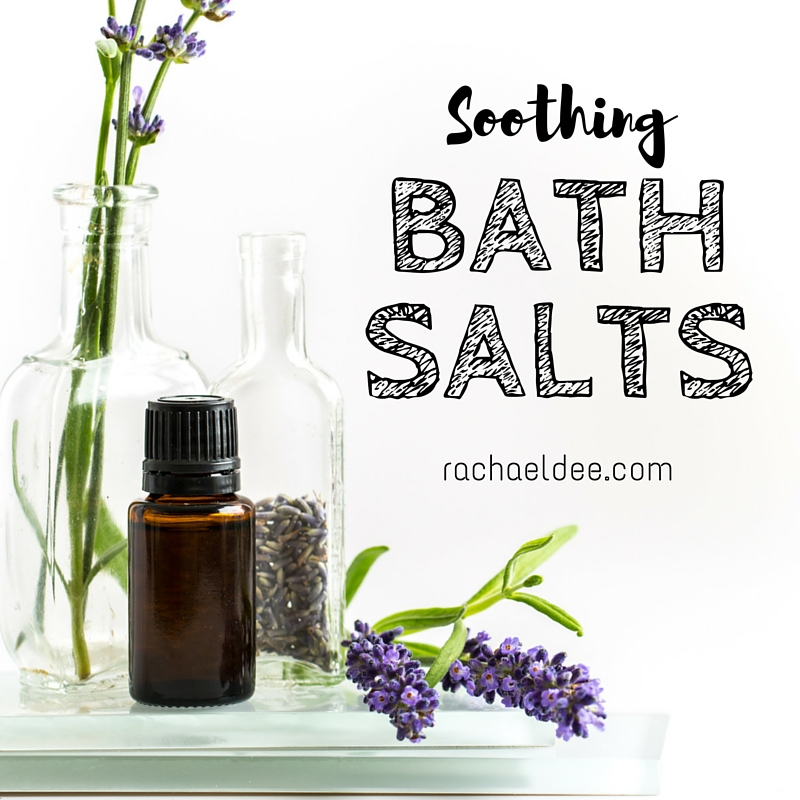 ESSENTIAL OIL DIY: Soothing Bath Salts