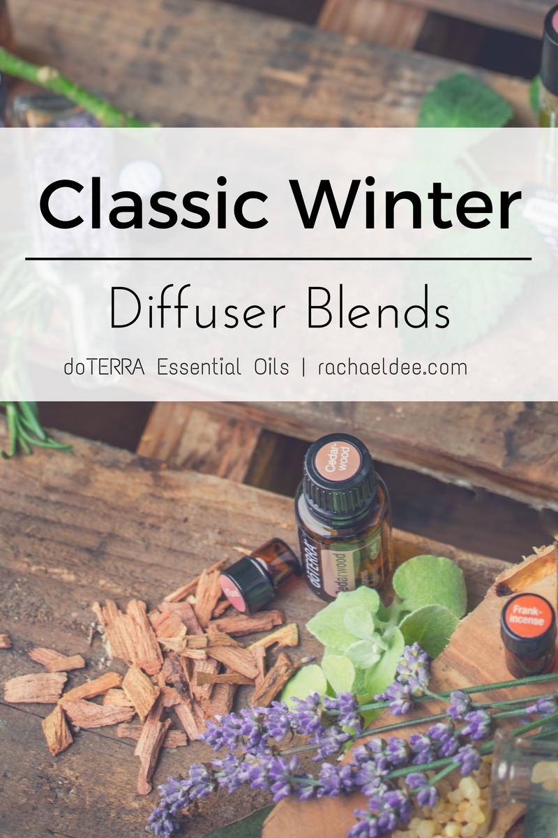 Classic Winter Diffuser Blends